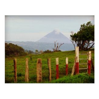 Costa Rica Arenal vulkansouvenir Vykort