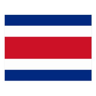 Costa Rica flagga Vykort