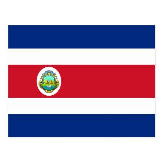 Costa Rica flaggavykort Vykort