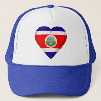 Costa Rica kostar den Rican flagga Truckerkeps