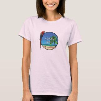Costa Rica - kvinna grundläggande T-tröja T-shirt