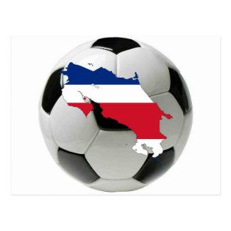 Costa Rica landslag Vykort