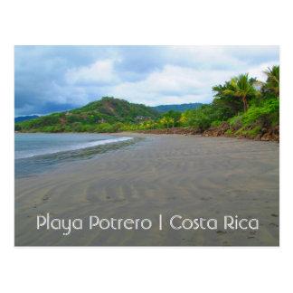 Costa Rica Playa Potrero strandvykort Vykort