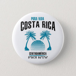 Costa Rica Standard Knapp Rund 5.7 Cm