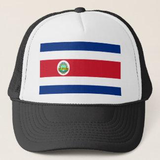 Costa Rica vapensköld Truckerkeps
