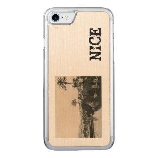 Cote d'Azur trevligt Lakasino 1910 Carved iPhone 7 Skal