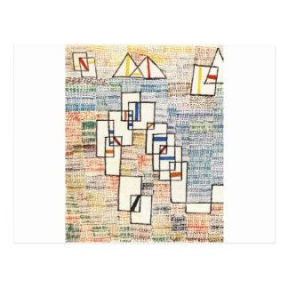 Cote de provence av Paul Klee Vykort