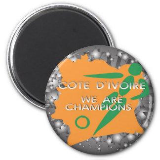 Cote d'Ivoire 2010 Magnet