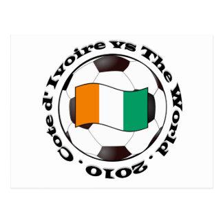 Cote d'Ivoire Vykort