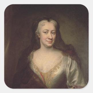 Countess Fuchs, Governess av Maria Theresa Fyrkantigt Klistermärke