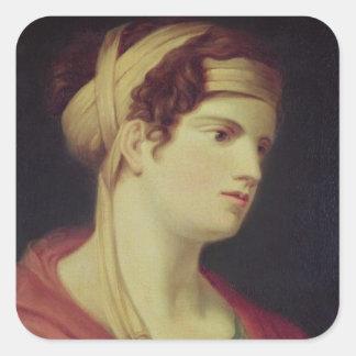 Countess Therese Brunswick Fyrkantigt Klistermärke