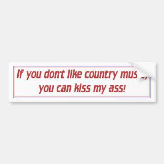 Countrymusik Bildekal