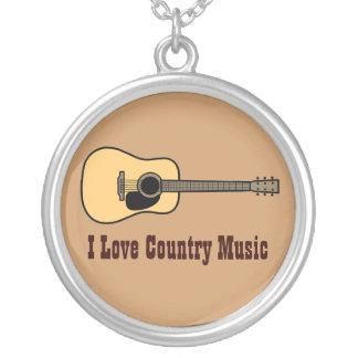 Countrymusik Silverpläterat Halsband