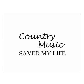countrymusik vykort