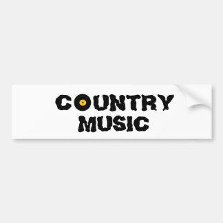 Countrymusikbildekal Bildekal