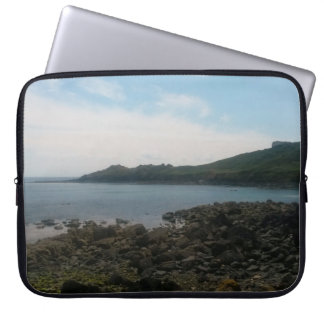 Coverack Cornwall England foto Laptop Sleeve