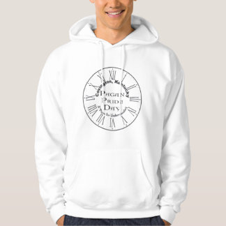Covington Pagan prideHoodie - stor logotyp Sweatshirt Med Luva
