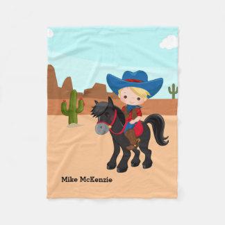 Cowboy Fleecefilt
