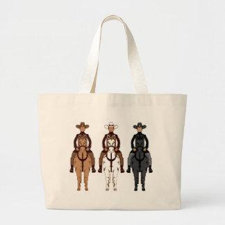 Cowboy - hästen beklär jumbo tygkasse