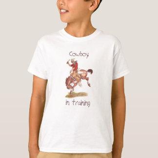 Cowboy i utbildning t-shirts