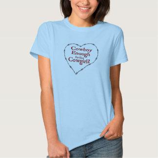 Cowboy nog dambaby - docka (passar), t-shirts