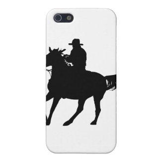 Cowboy och hans häst iPhone 5 skydd