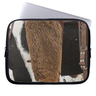 Cowboy på häst laptop sleeve