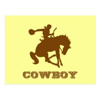 Cowboy Vykort