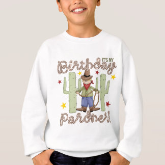 Cowboybarns födelsedag t shirt