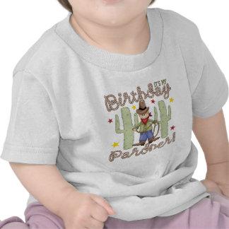 Cowboybarns födelsedag tee shirts