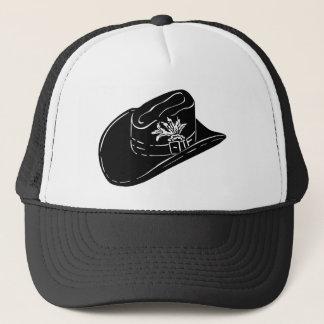 Cowboyhatt inom en hatt keps