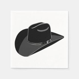 Cowboyhatt Pappersservetter