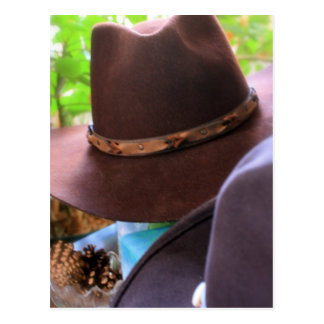 Cowboyhattar Vykort