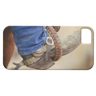 Cowboykängan med sporrar 2 iPhone 5 hud