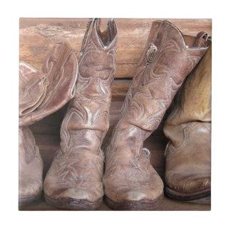 Cowboykängor Kakelplatta