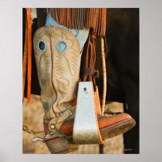 Cowboykängor Poster