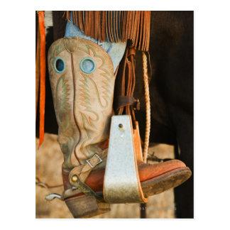 Cowboykängor Vykort