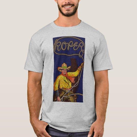 CowboyRoper manar T-tröja T Shirts