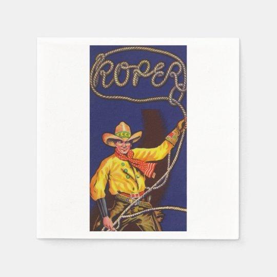 CowboyRoper pappra servetter