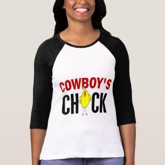 Cowboys chick t shirt