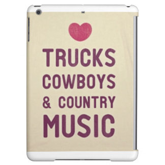 Cowboys & countrymusik I-Vadderar fodral
