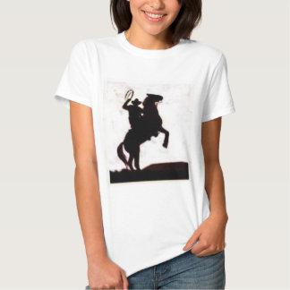 Cowboys gör det på hästrygg tee shirt