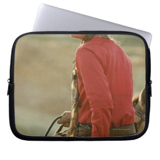 Cowgirl 4 laptop sleeve