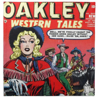 Cowgirl Annie Oakley Tygservett