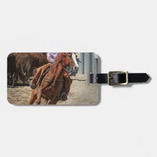cowgirl bagagebricka