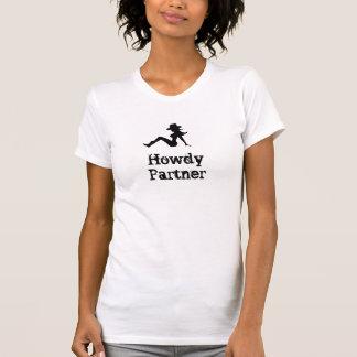CowgirlHowdy partner Tshirts