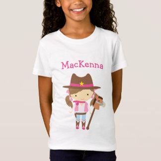 Cowgirlpersonligt-skjorta Tröjor