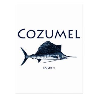 Cozumel Sailfish Vykort