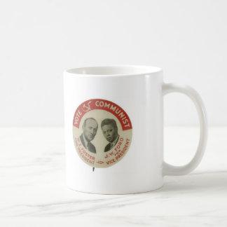CPUSA vårdar/den Ford presidentvalmuggen 1932 Kaffemugg