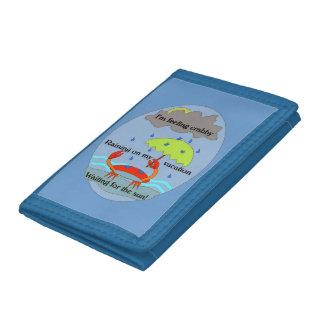 Crabby plånbok för dagHaiku (blått)